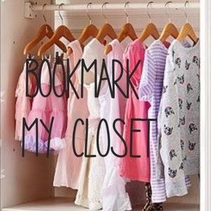 Other - ⭐️Bookmark my closet ⭐️